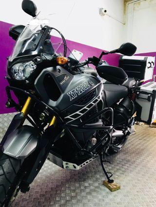 Yamaha Super Tenere prestine condition( full touring gears)