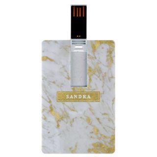Gold Marble USB Thumbdrive Flashdrive