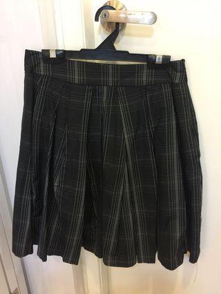 Zara flare - knee length skirt