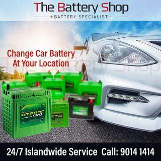 On-site 24Hr Car Battery Replacement Service Singapore - Amaron Car Battery