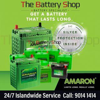 Affordable 24Hr Car Battery Replacement Service Singapore - Amaron Car Battery
