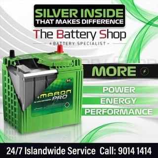 Fast 24Hr Car Battery Replacement Service in Singapore - Affordable Amaron Car Battery