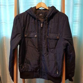 Water-resistant winter jacket