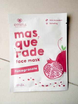 Emina Masquerade Sheet Mask #astarigiveaway