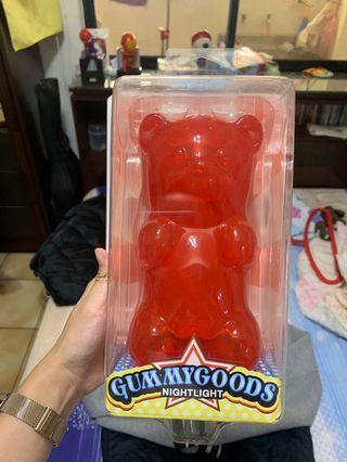 美國 Gummy Bear 軟糖熊夜燈 紅色