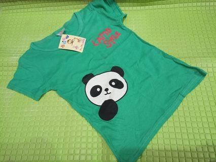 Kaos anak Panda
