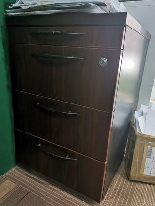 Wood Drawer Office Storage Cabinet
