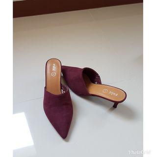 Rubi Mule heels pointy