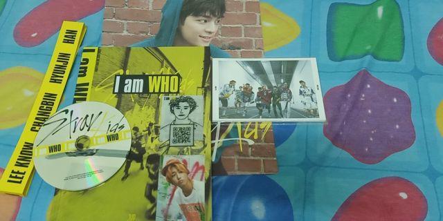STRAY KIDS I AM WHO ALBUM