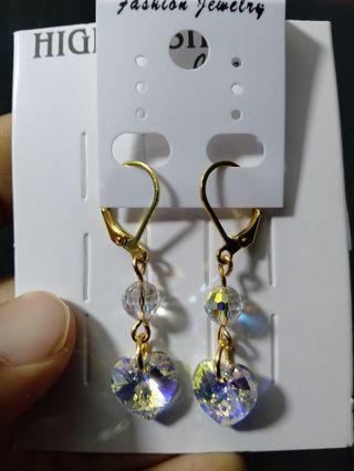 Earrings swarovski handmade