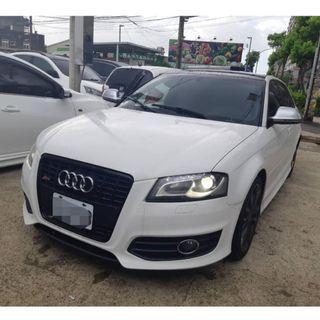 2009 Audi S3 2.0L 【行情最低價】配合銀行貸款專案 0頭期全額貸 超低利率3%] 由銀行高階主管經手辦理 沒有喬不過的件!