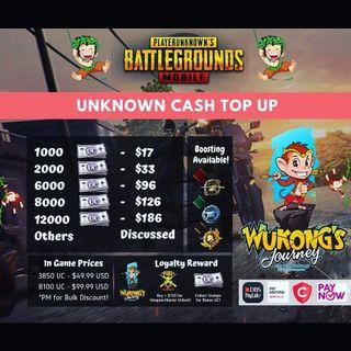 PubG Unknown Cash