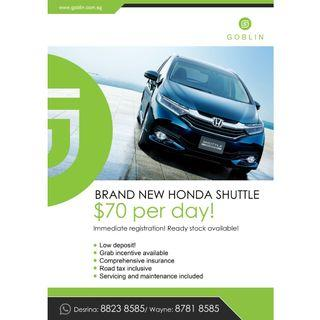 Brand New Honda Shuttle For Rent