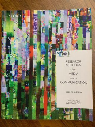 🚚 Research Methods For Media & Communication 2nd Edition (Murdoch Uni, BAR200)