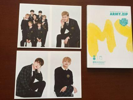 BTS - ARMY ZIP OFFICIAL FANKIT LOOSE ITEM