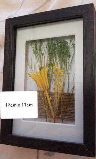 Dried flower picture home n decor