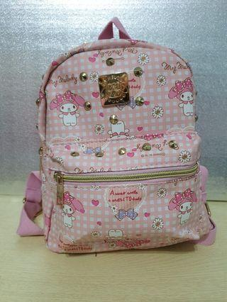 My melody kids backpack ( New ) 3 design