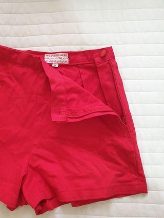 Preloved high waist short