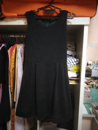 Skater flare Black dress