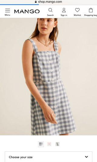 mango dress (harga normal 599.000) BISA NEGO