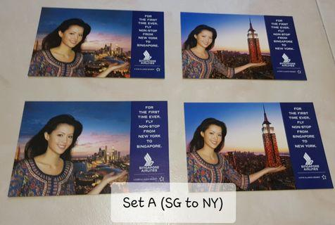 🚚 SIA collectible postcards
