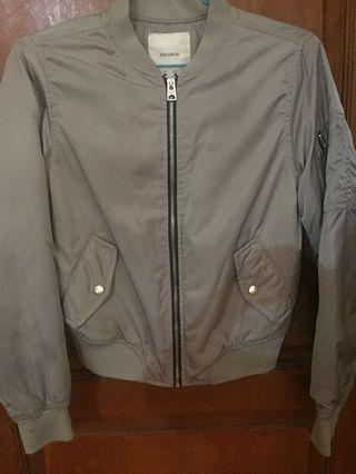 Pull&Bear jacket-grey