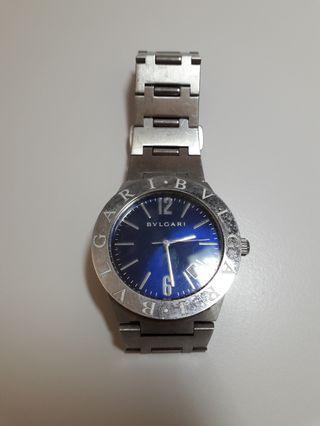 Bvlgari 寶格麗 男錶 手錶