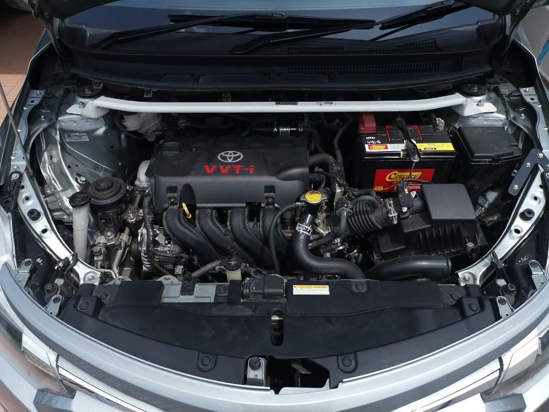 2016 Toyota Vios with Push Start, Ultra Racing Bar