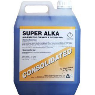 Consolidated Alkaline Cleaner All-purpose DeGreaser