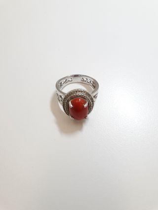 紅珊瑚 戒指