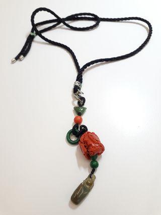 紅珊瑚 項鍊