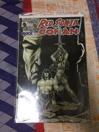 Red Sonja/Conan #1 (Comic Block Exclusive)