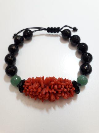 紅珊瑚 手環