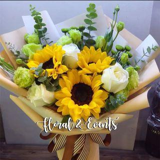Sunshine Sunflower Bouquet