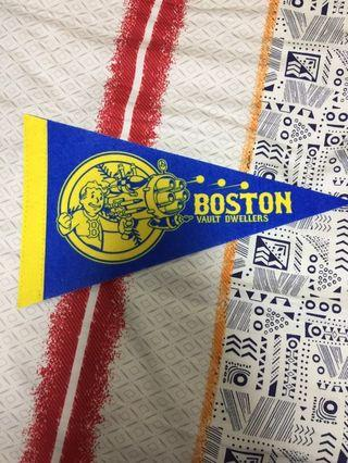 "Fallout ""Boston Vault Dwellers"" Pennant Flag (Nerd Block Exclusive)"