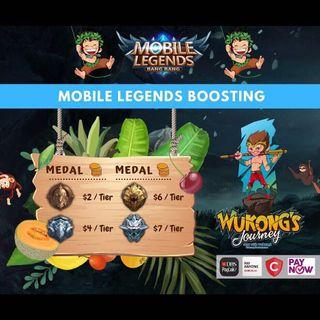 Mobile Legends Boosting by WukongJourney