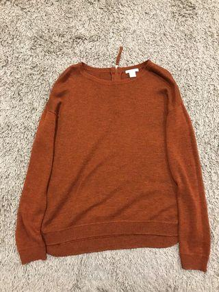 H&M Brown Sweater