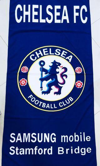 🚚 Chelsea & Barcelona FC Bath Towels