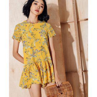 Floral Playsuit Dress
