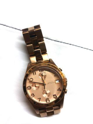 Cute! Marc by Marc Jacobs rose gold watch