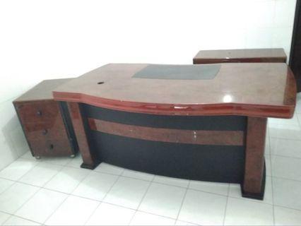 set meja kantor informa bagus kokoh kuat tebal drawer
