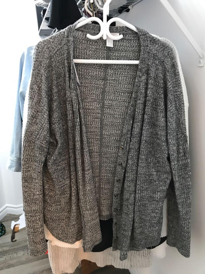 3 Oversized vests (Black/Grey/White) Urban Outfitters size L