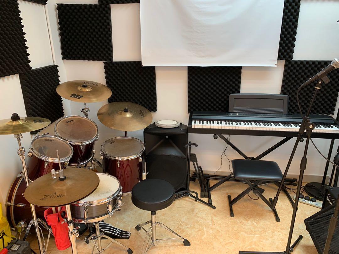 [觀塘區/牛頭角] 學鼓 流行鼓 木箱鼓 女導師 私人授課