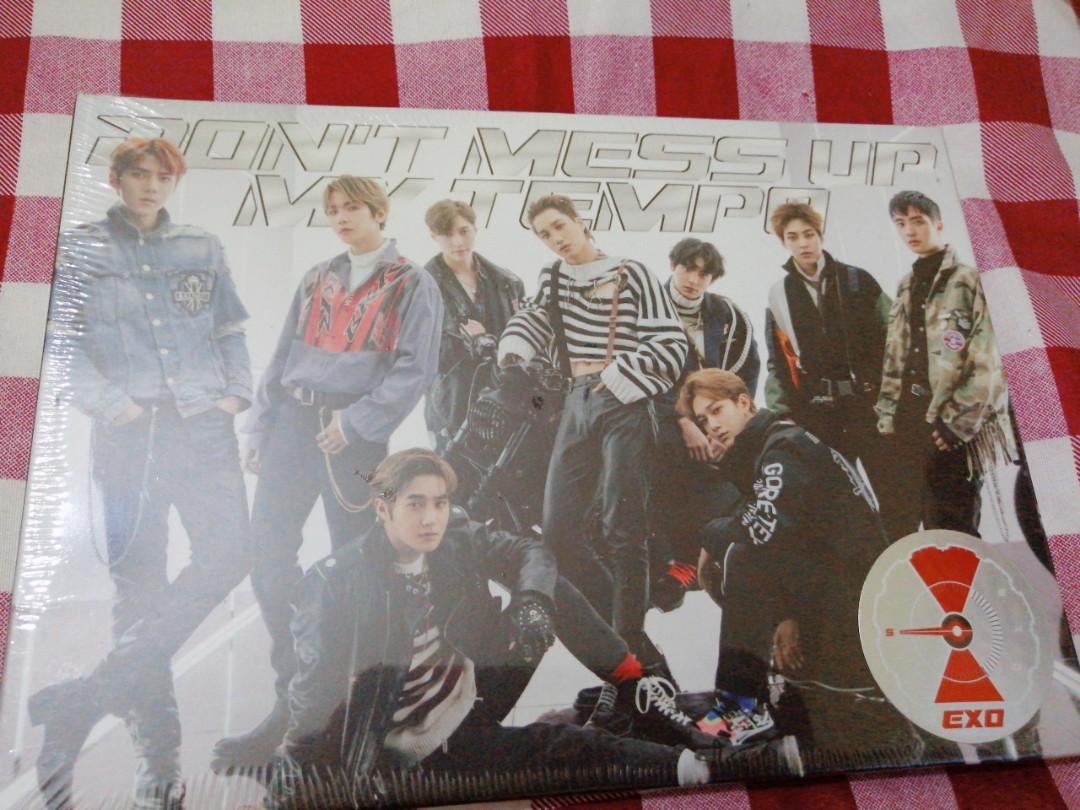 ( SEALED ) EXO VIVACE ( DON'T MESS UP MY TEMPO SPECIAL EDITION )