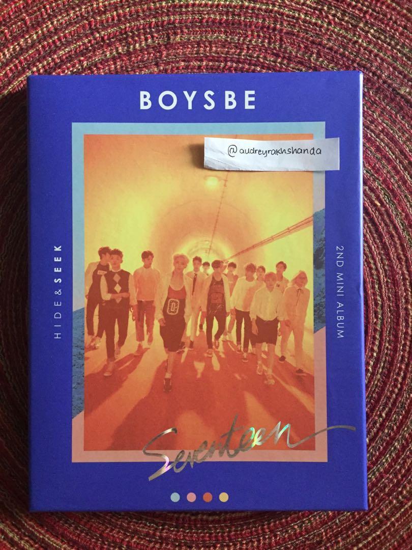 ✨ SEVENTEEN 2ND MINI ALBUM: BOYS BE SEEK VERSION ✨