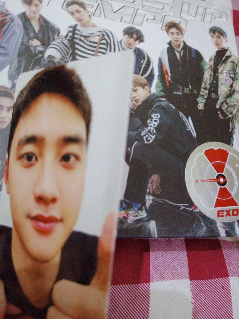 ( UNSEALED) EXO VIVACE ALBUM ( DON'T MESS UP MY TEMPO SPECIAL EDITION )