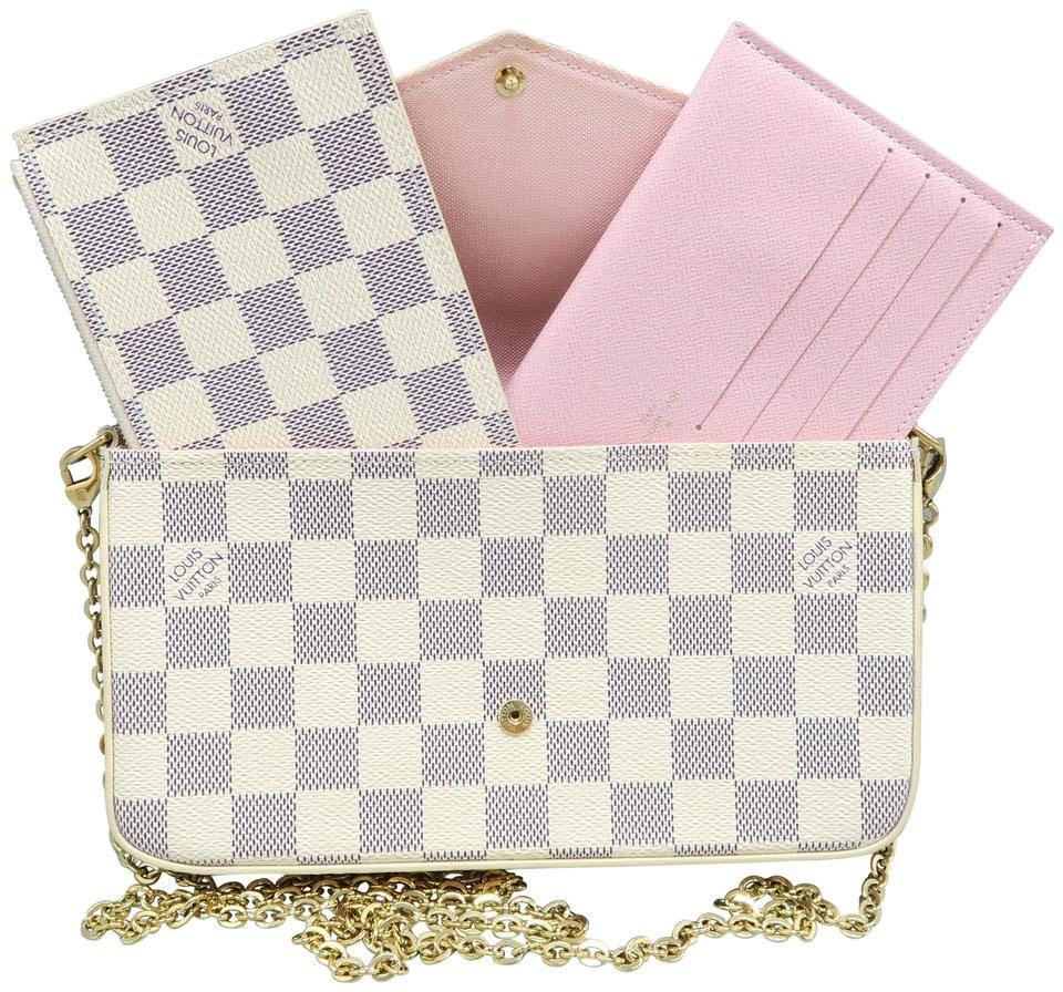 Authentic Pochette Felicie (ZIP POCKET AND FLAT POCKET W/ 8 CARD SLOTS ONLY) bag not included.