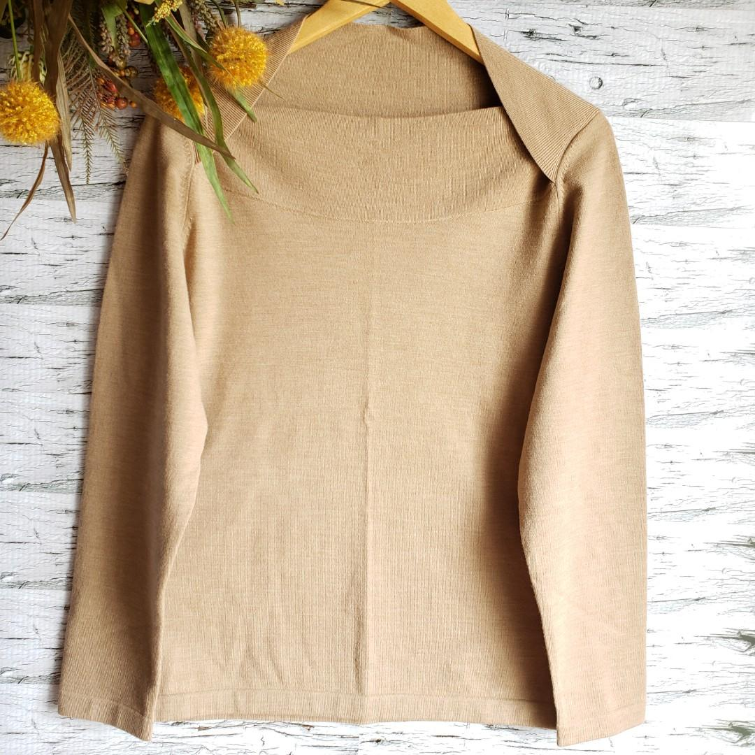 Banana Republic | Extra Fine Merino Wool Sweater Camel XL