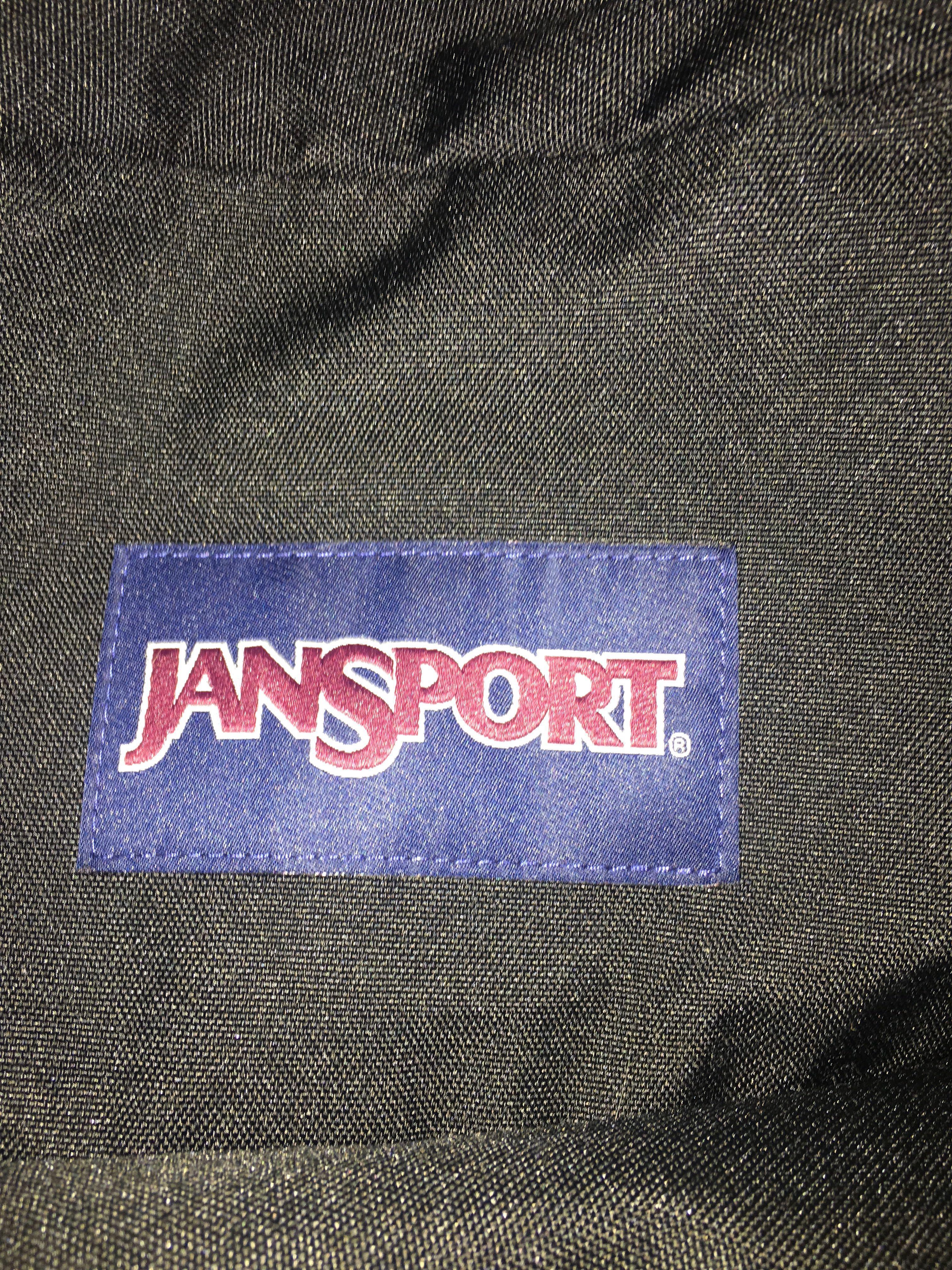 BLACK JANSPORT BAG