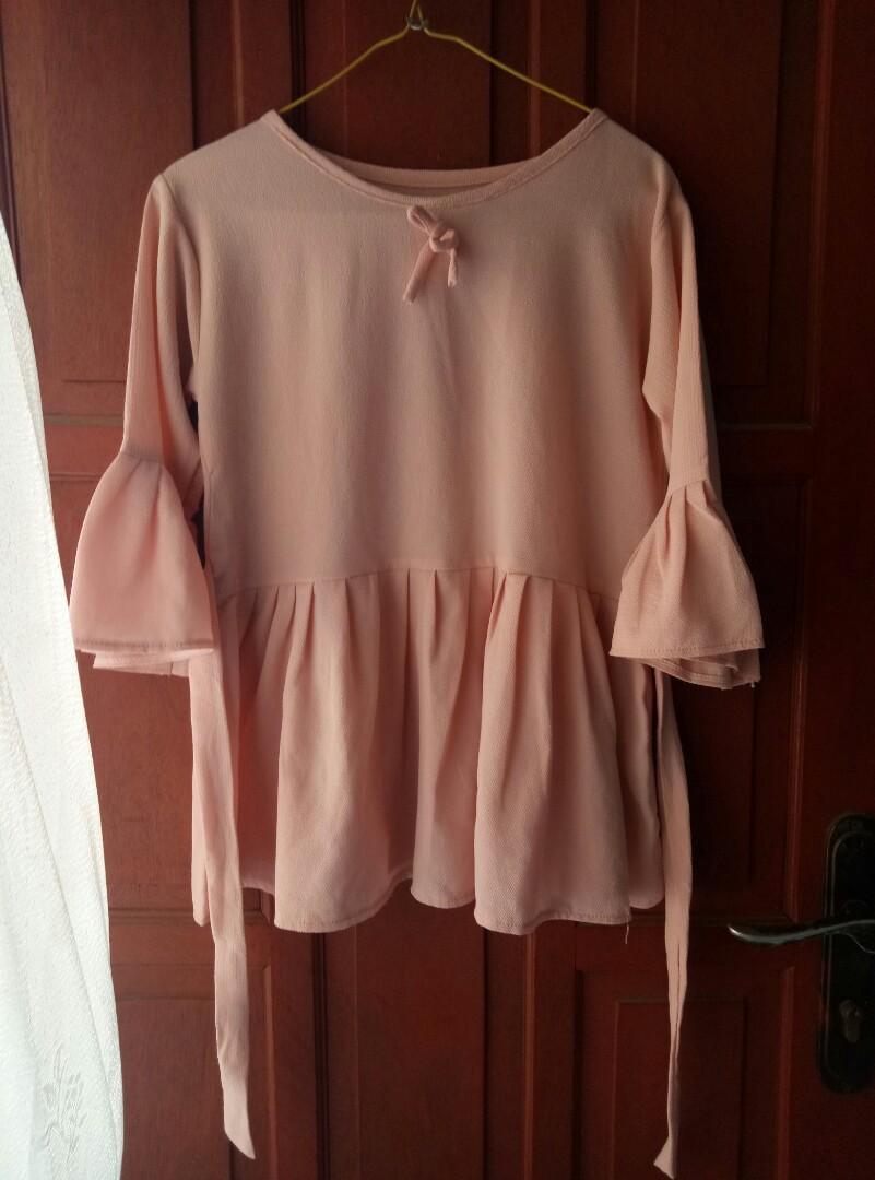 Blouse Pink AR125